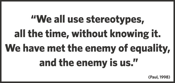 a discussion on stereotypes and the media Stereotypes in the media  stereotypes and their pervasiveness in the media the media these days is littered with stereotypes  discussion the data.