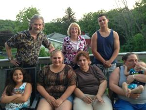 (top left to right) Christopher, Jennifer, brother nick (17) (bottem left to right) sister Caylee, Me, Tammy, sister Jillian (25) and her son Joseph (16 months)
