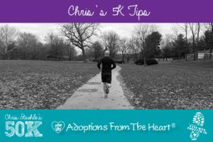 AFTH Chris Staehle's 5K Tips