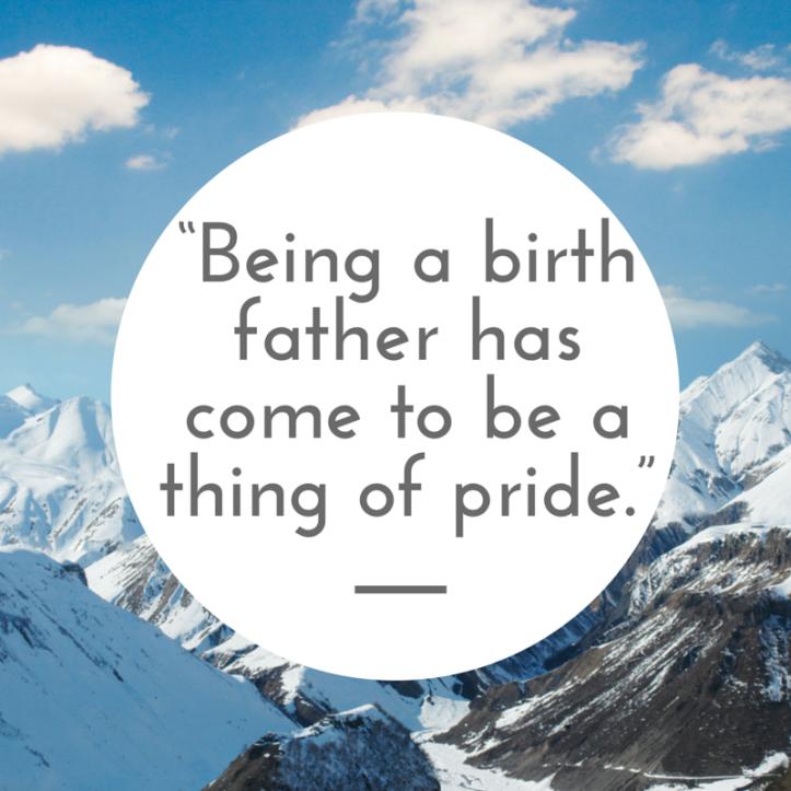 Birthfather Pride