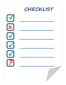 checklist-911840_1920